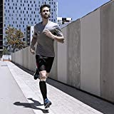 Toes&Feet Mens 3-Pack Black Compression Socks