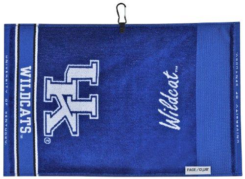 Team Effort Kentucky Wildcats Face/Club Jacquard Towel