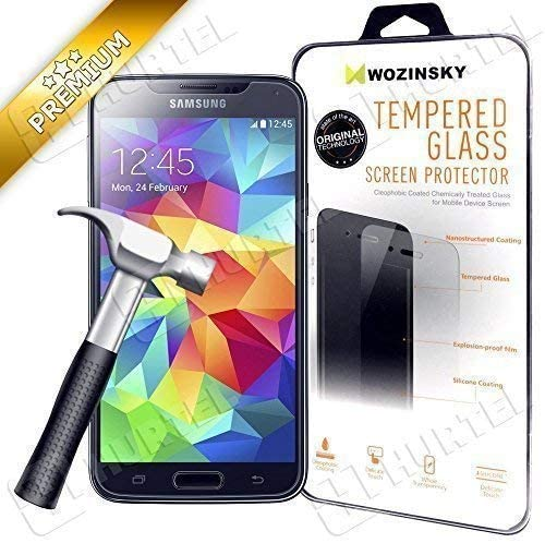 Bestbuy-24 Vidrio Templado Folio Blindado para Smartphone Samsung Galaxy-S5 G900/S5-Neo G903, Dureza 9H, Verre de Protection, Calidad Superior: Amazon.es: Electrónica