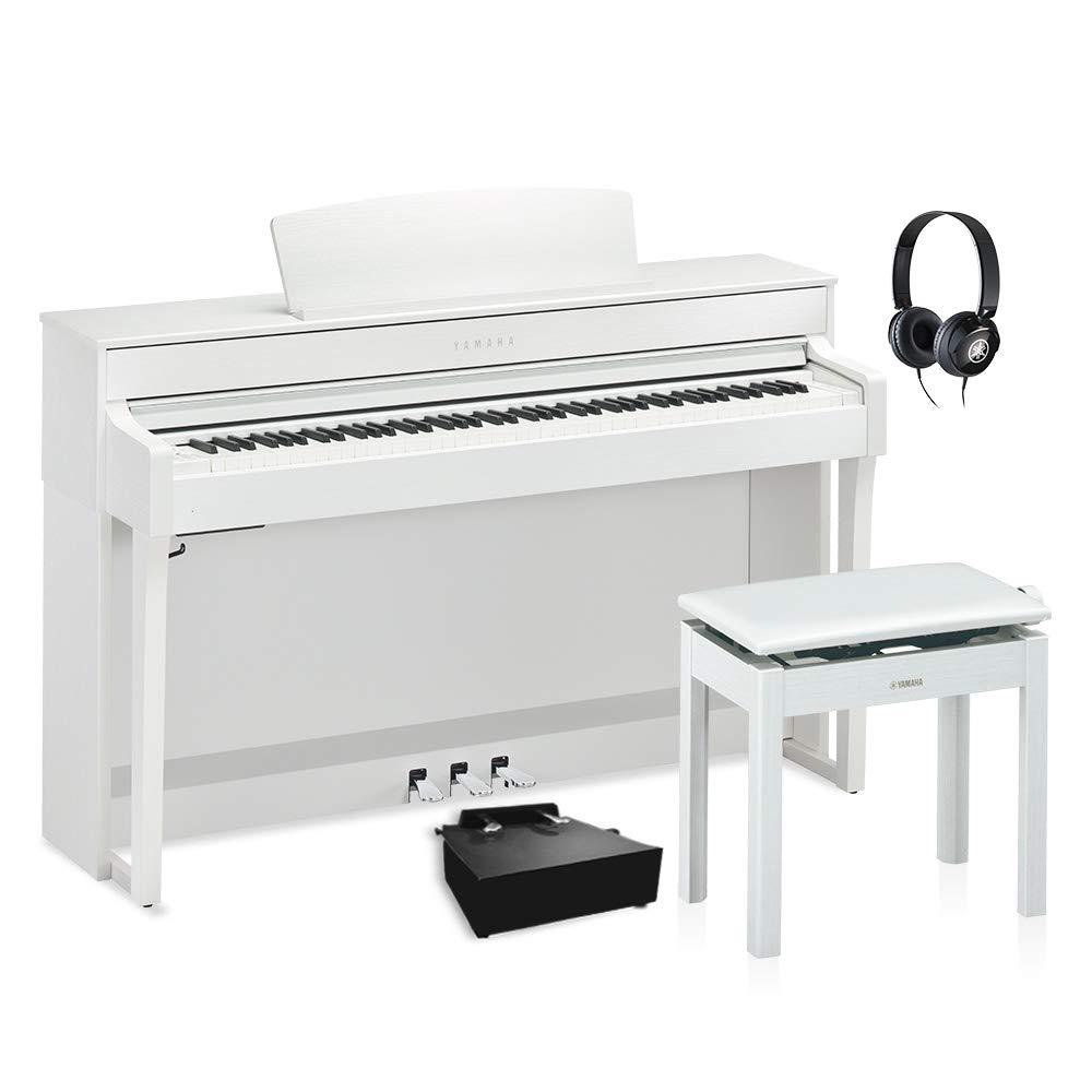 YAMAHA SCLP-6450 WH 補助ペダルセット 電子ピアノ 88鍵盤 ヤマハ   B07HF2H7PJ