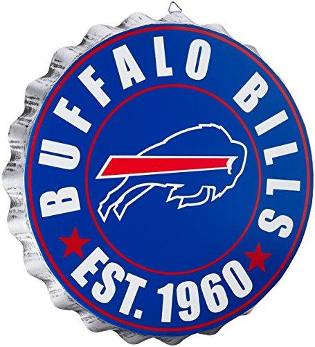 Buffalo Bills 2016 Bottle Cap Wall Sign Buffalo Bills Collectibles