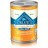 Blue Buffalo Large Breed Dog Canned Food, Chicken (Pack Of 12 12.5-Ounce Cans)