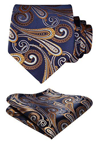 Blue Gold Necktie - 8