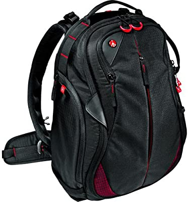 Manfrotto Bumblebee-130 PL, Backpack Pro Light, Black, Full-Size (MB PL-B-130)