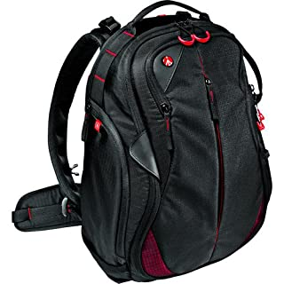 """Manfrotto Bumblebee-130 PL Professional Photography Camera Backpack, for Mirrorless, Reflex, Professional Video Cameras and Accessories, with Pocket for 15"""" PC and an Internal Divider System - Black"""