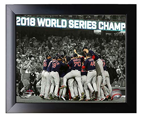 - Framed The Boston Red Sox 2018 World Series Champions Scoreboard Team Photo 8x10 Photo Picture