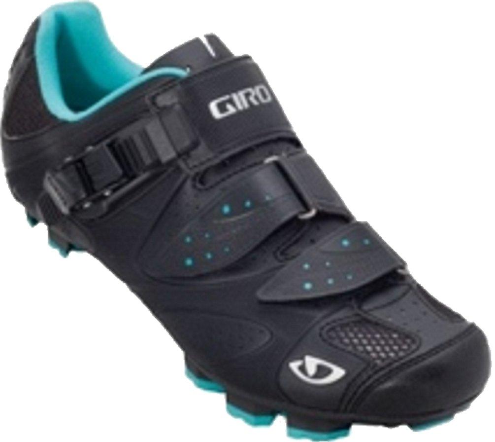 Giro 2013 Women's Sica Mountain Bike Shoes (Black/Teal - 38.5) by Giro