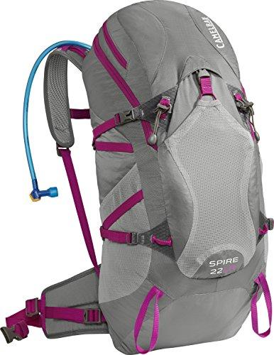 Camelbak Women's 2016 Spire 22 LR Hydration Pack, Graphite/Bright Fuchsia