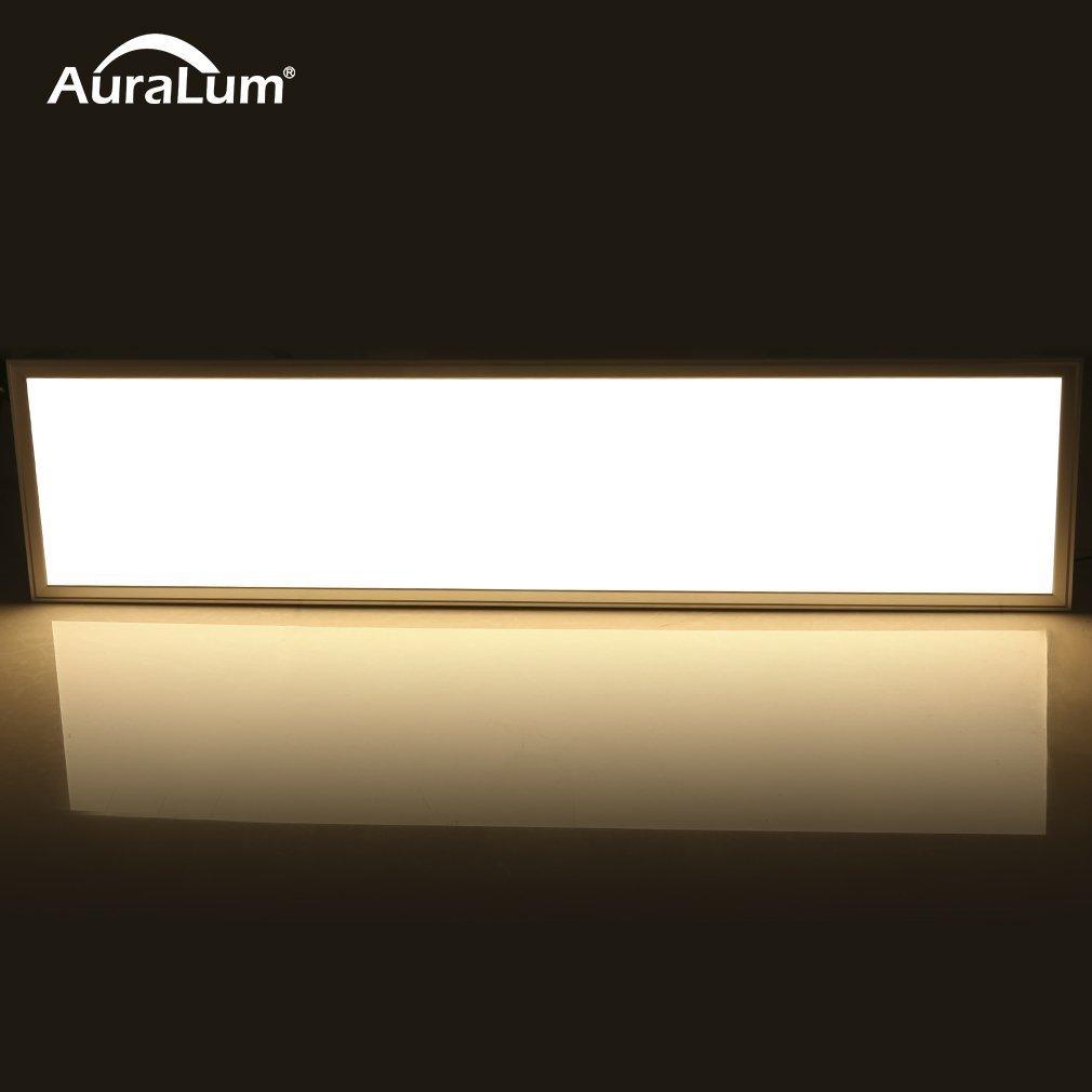 Auralum® 120x30cm 36W Warmweiß SMD 2835 Ultraslim Dünn Einbau ...