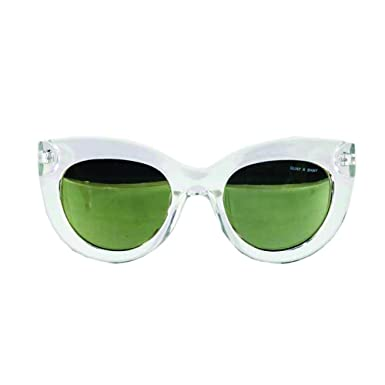 b5e4df2cff404 Quay x Shay Jinx Sunglasses Cat Eye Frame Kitty Kitti Plastic Matte (Clear