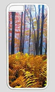 Beautiful Colored Trees Thanksgiving Halloween Masterpiece Limited Design PC Transparent Case for iphone 6 pluse by Cases & Mousepads