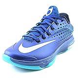 Nike Mens KD VII Elite Basketball Shoes Gym Blue/LT Retro/Met Silver 724349-404 Size 11.5