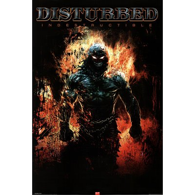 Disturbed Indestructable Music Poster Print