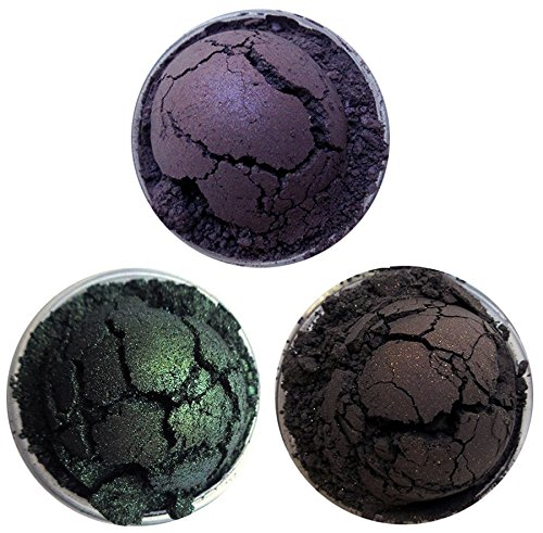 Shiro Cosmetics Eye Shadow Indie Makeup Trio - Have a Biscuit, Potter, Metamorphmagus, The Boy Who Lived (2.0 grams each) -