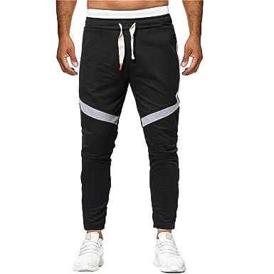 Pantalones Hombre Pitillo, Moda Masculina Deportiva Pantalones De ...