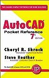 AutoCAD Pocket Reference by Cheryl Shrock (2015-11-24)