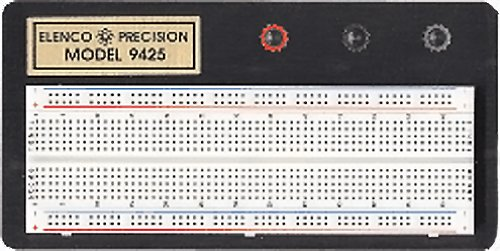 Elenco  Breadboard with 830 Tie Points - 9425 (Elenco Electronics Trainer compare prices)