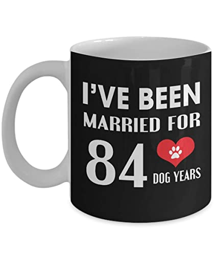 Amazoncom 12th Wedding Anniversary Gifts For Dog Lover Black