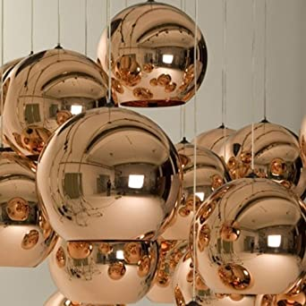 Lightinthebox Mini Globe Pendant 1 Light Minimalist Metal Glass Electroplating Modern Home Ceiling