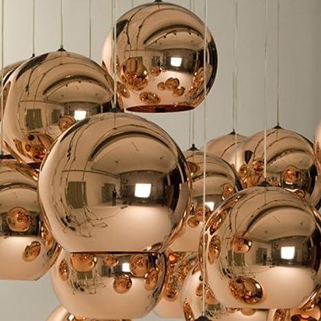 Lightinthebox Mini Globe Pendant, 1 Light, Metal Glass Electroplating,  Modern Home Ceiling Light
