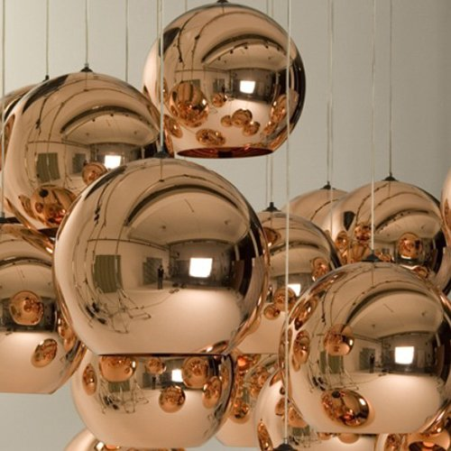 Lightinthebox Mini Globe Pendant, 1 Light, Metal Glass Electroplating, Modern Home Ceiling Light Fixture Flush Mount, Pendant Light Chandeliers Lighting for Dining Room, Bedroom, Living Room]()