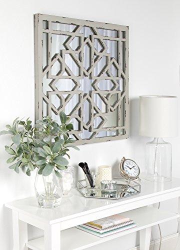 Kate Laurel Andressa Distressed Geometric product image