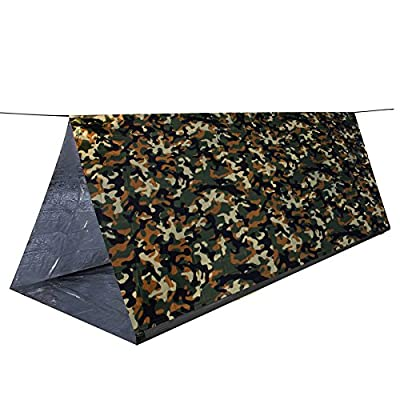 MYLATECH SURVIVAL XL Emergency Tube Tent (3 color styles) | Bivvy Convertible For Maximum Heat Retention | Our Thermal Mylar is 95% + Heat Reflective and Tested By Service Members | …