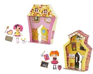 MGA Entertainment 999950 Mini Lalaloopsy - Muñecas modelo Crumbs Sugar Cookie y Bea Spells-a-Lot [Importado de Alemania]