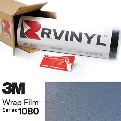 3M 1080 G247 Gloss ICE Blue 5ft x 20ft W/Application Card Vinyl Vehicle Car Wrap Film Sheet Roll