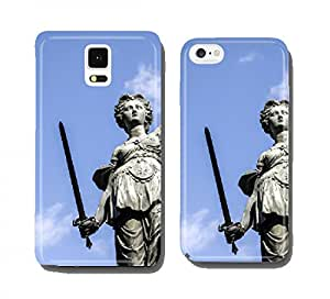 Justitia, a monument in Frankfurt, Germany cell phone cover case Apple iPhone 5C