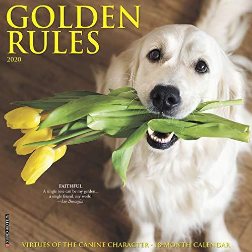 (Golden Rules 2020 Wall Calendar (Dog Breed Calendar))