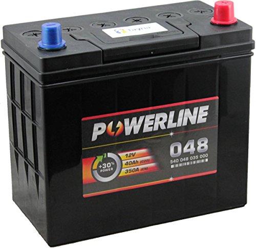 048 Powerline Car Battery 12V:
