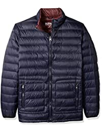 Buffalo by David Bitton Men's Big and Tall B&T Packable Down Puffer Jacket