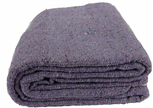 Kakaos Solid Color Yoga Blanket (Light Purple)