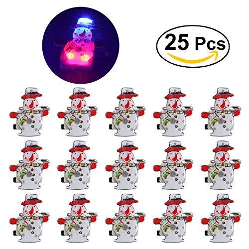 Led Light Snowman Craft - 1
