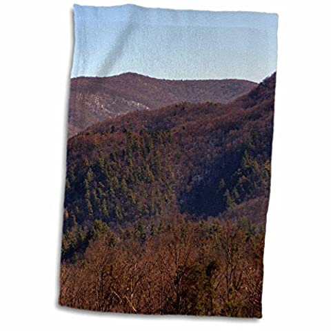 3D Rose Cades Cove in the Smokey Mountains twl_172312_1 Towel, 15