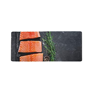Amazon.com: Fresh and Juicy Salmon Cool Lether - Funda para ...