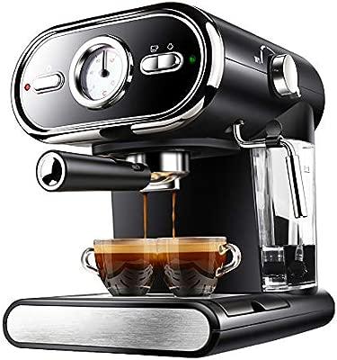 ZGZXD Máquina de café Italiana, Cafeteras Espresso ...