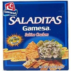 Amazon.com: New 302223 Gamesa Saladitas 14.74 Oz (12-Pack