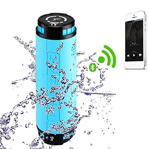 10000mAH Li-po 10W2 Built-in Outdoor Sports Cycling Wireless Bluetooth Speaker For Mountain Bike Portable Waterproof Speaker Subwoofer For Android Iphone