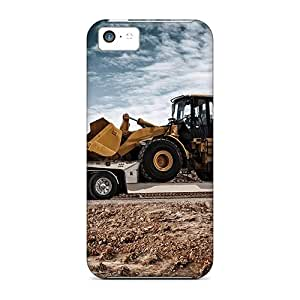 New Snap-on StaceyBudden Skin Cases Covers Compatible With Iphone 5c- Caterpillar Transport