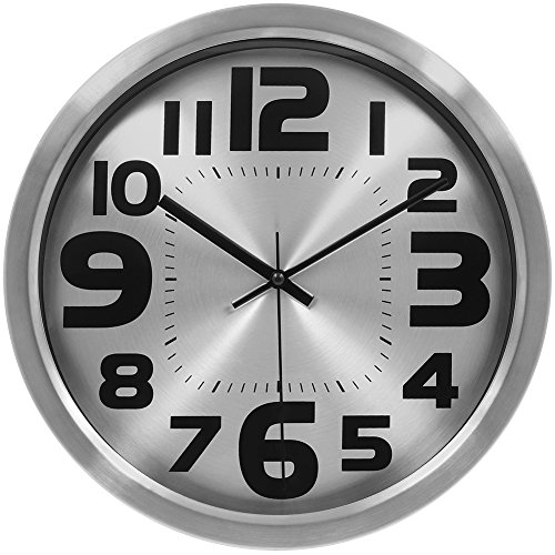 HIPPIH Large Silent Wall Clock