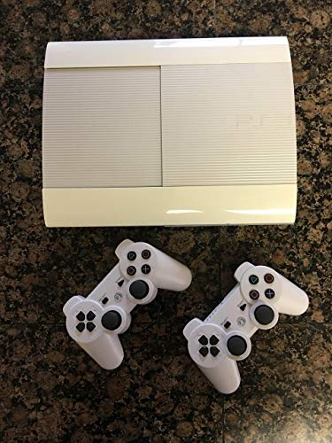 Sony PlayStation 3 PS3 Super Slim CECH-4012 500GB Console – White (Renewed)