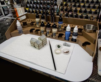 painting station - 1