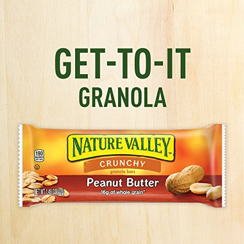 Nature Valley Granola Bars, Crunchy, Peanut Butter, 6 Pouches - 1.49 oz, 2-Bars Per Pouch (Pack of 6) by Nature Valley (Image #4)