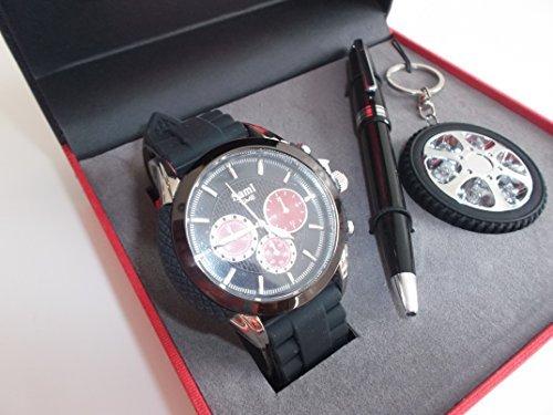 Sami RSM-43569-1 Motor Time Series Conjunto de Reloj de caballero esfera con