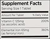 Vitron-C High Potency Iron Supplement with Vitamin C