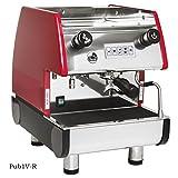 Cheap La Pavoni PUB 1V-R – 1 Group Commercial Espresso Cappuccino machine, Red
