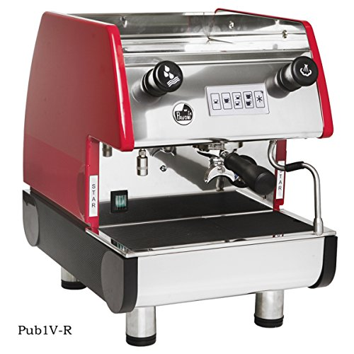 1 Group Commercial Espresso Cappuccino machine, Red ()