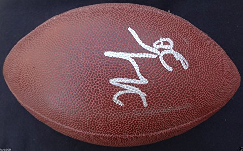 Nfl Football Jones Thomas (THOMAS JONES SIGNED NFL FOOTBALL ARIZONA CARDINALS CHICAGO BEARS NEW YORK JETS 1)